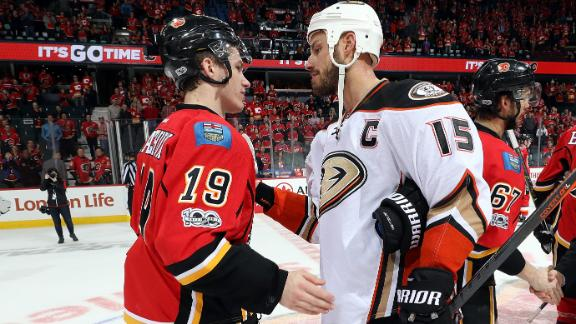Ducks finish off Flames in four game sweep