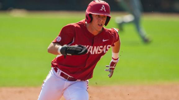 No. 14 Arkansas takes down No. 12 Auburn