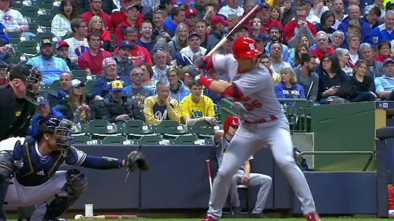 Diaz's pinch-hit homer gives Cardinals the lead