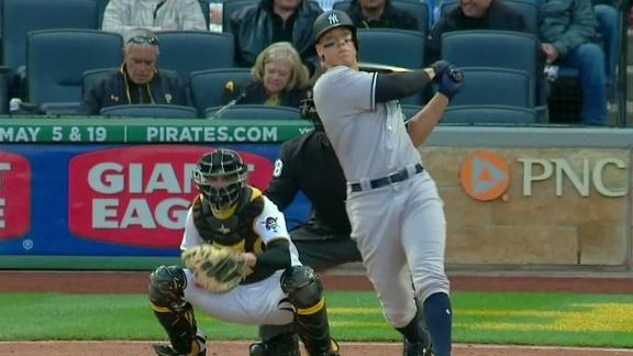 Judge demolishes pitch for 460-foot home run