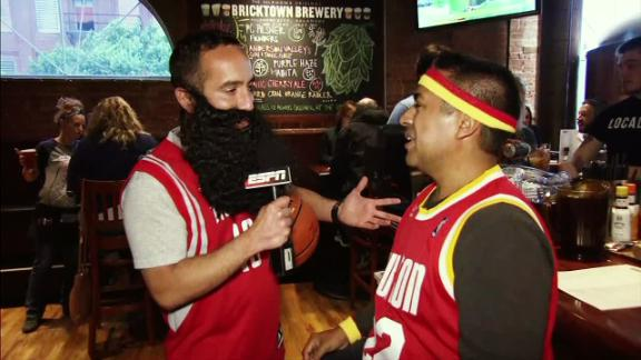 'Harden' returns to OKC to get the pulse of the fan