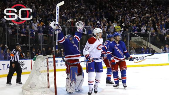 Rangers close out Canadiens in 6