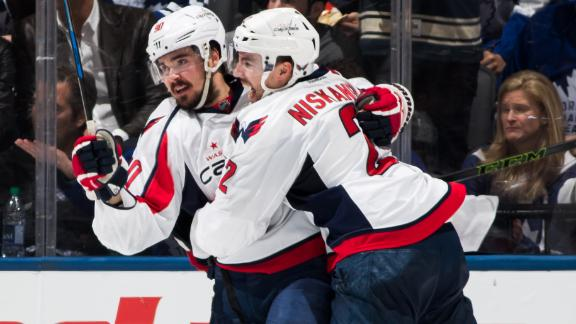 Capitals finish off Maple Leafs with Game 6 OT win