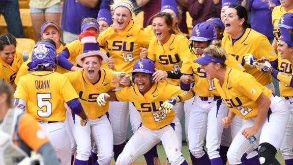 Top plays in SEC softball: Week 11