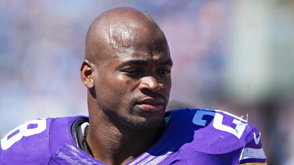 Expect Peterson to be 'fired up' to face Vikings