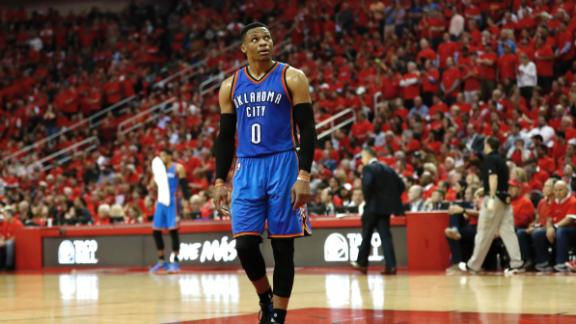 Westbrook can't save Thunder from elimination