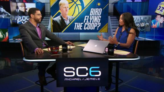 What does Bird stepping down mean for Pacers?
