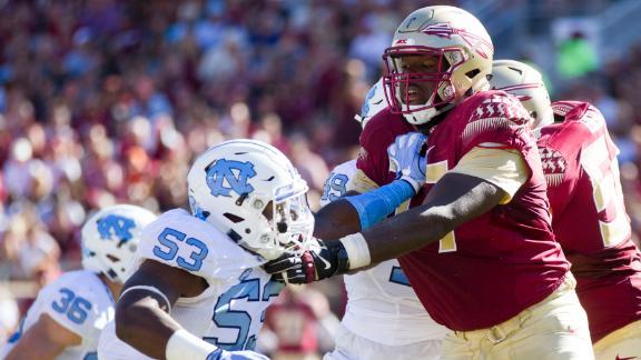 Roderick Johnson draft highlights