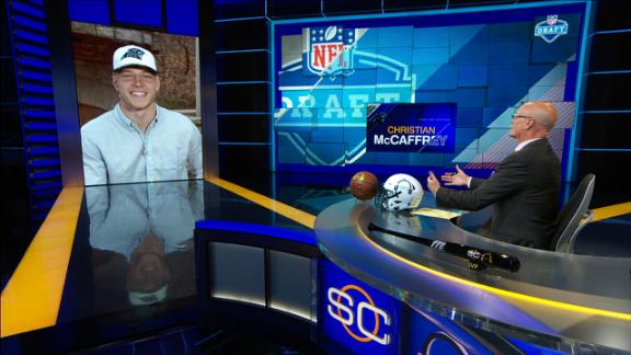 McCaffrey: 'Unbelievably blessed to be a Panther'