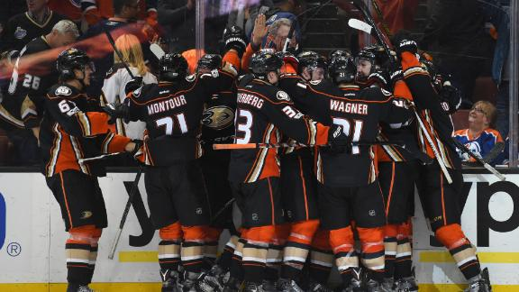 Ducks rally to edge Oilers in OT