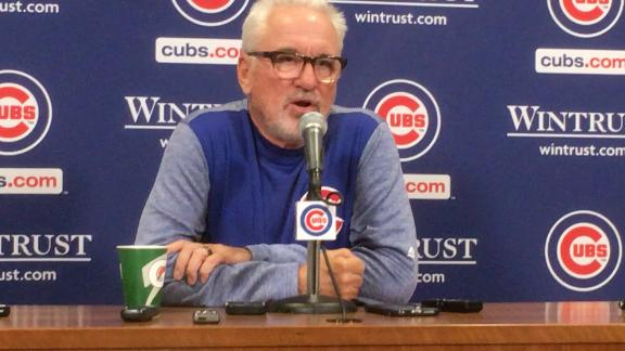 Watch Joe Maddon discuss the idea of an electronic strike zone.