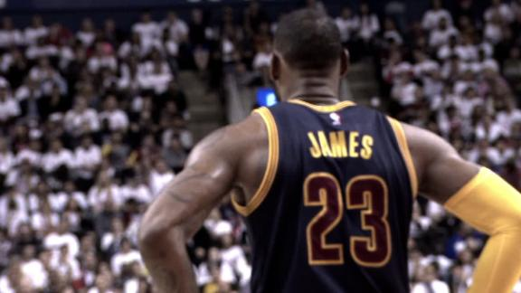 LeBron continues historic march with sweep