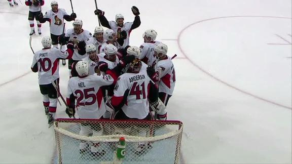 Senators advance to Eastern Conference finals