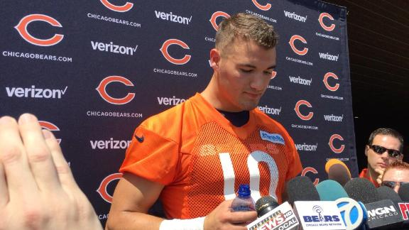 Trubisky wants to support Glennon