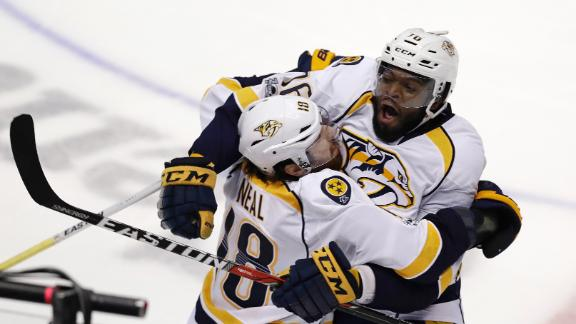 Preds take Game 1 on Neal's OT winner