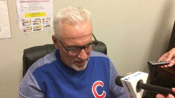 Watch Joe Maddon rip into the slide rule at second base which