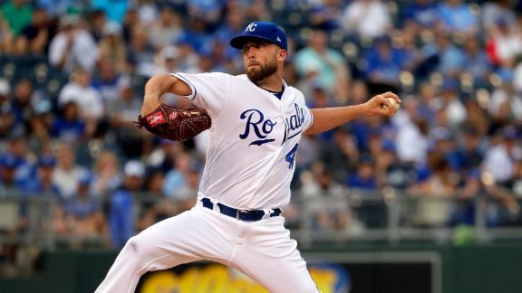 Duffy, Moustakas shut down Yankees