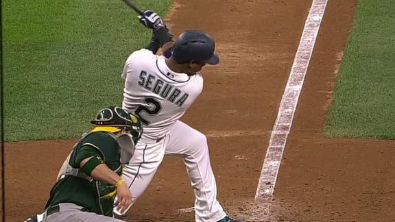 Segura extends hit streak to 16 games