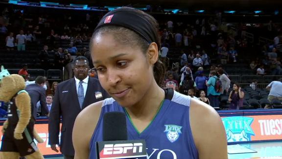 Moore breaks down Lynx win over Liberty