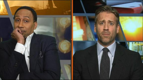 Stephen A. has no comment for Max by taking Harden off All-NBA first team