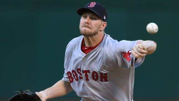 Sale's 10 K's not enough for Red Sox