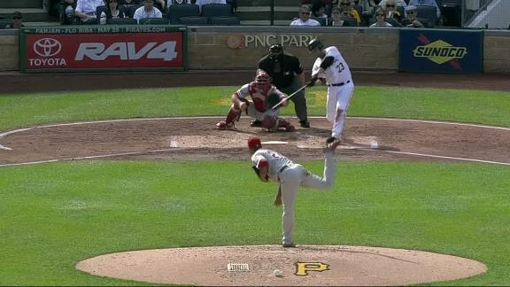 Pirates never look back after Freese's homer