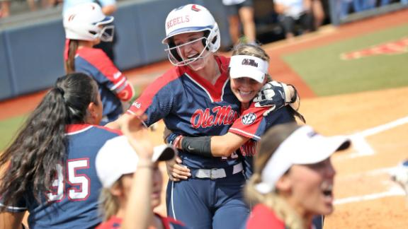 Rebels headed to program's first Super Regionals