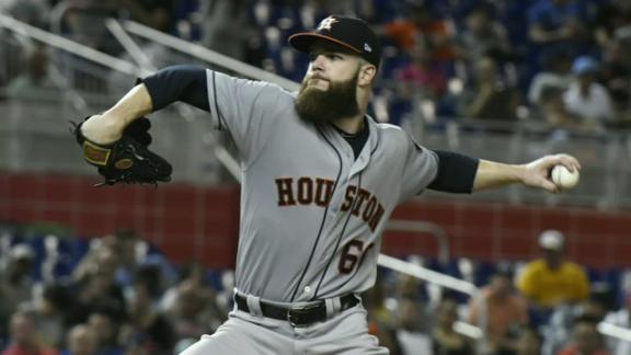 Astros say Keuchel injury is not serious