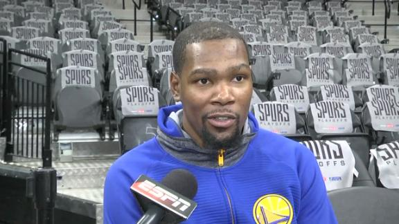 Durant meant no disrespect with viewing comments