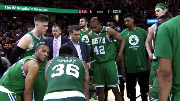 Celtics respond in Game 3 with backs against the wall