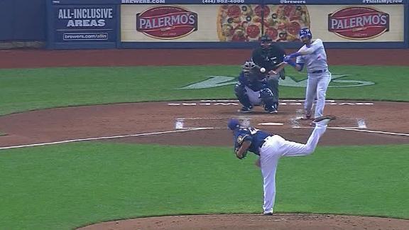 Bautista wallops homer off center-field scoreboard