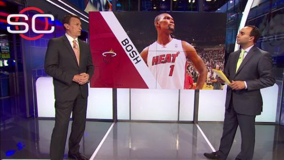 Legler believes Bosh can make big impact in return