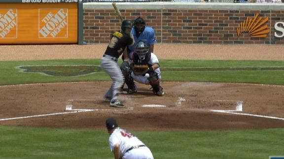 Frazier's 3-run shot puts Pirates up for good