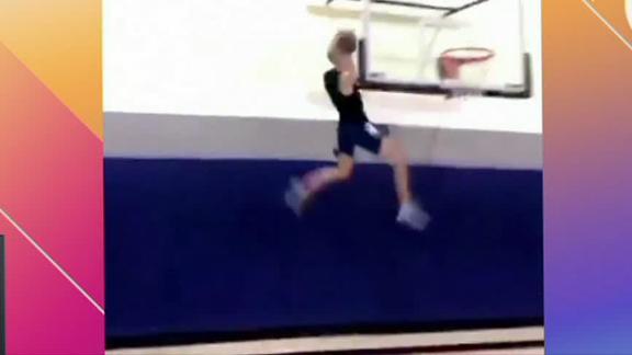 Wall-climbing dunk earns top neighborhood play