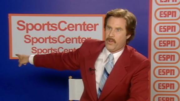 Ron Burgundy's take on the Cubs Anchorman-themed road trip