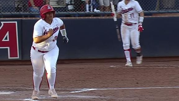 NCAA Softball Super Regional: Late-inning drama ends Arizona's season