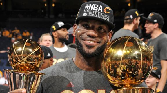 LeBron's remarkable 7-year NBA Finals run