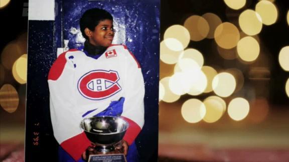 P.K. Subban was born to play hockey
