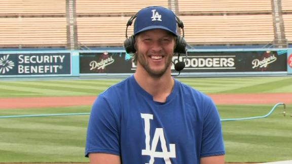 Kershaw on all things Dodgers