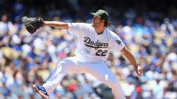 Kershaw's struggles don't stop Dodgers