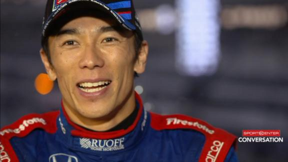 Sato overjoyed with Indy 500 victory
