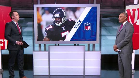 Herm: Atlanta should allow Vick to retire as a Falcon