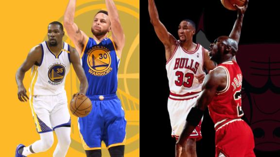 How do Warriors compare to '96 Bulls?
