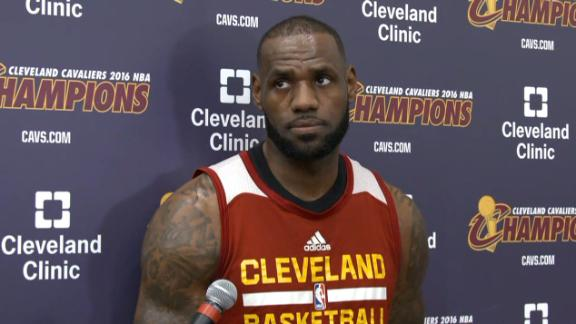 LeBron wants to win just as bad as Warriors