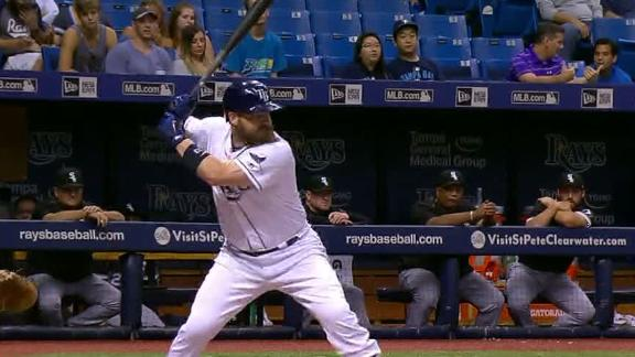 Rays' Faria Beats White Sox 3-1 in Debut