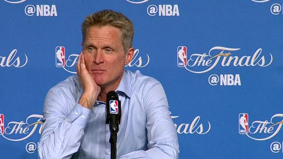 Kerr banked on LeBron, Kyrie getting fatigued