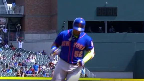 Cespedes takes a leisurely stroll on grand slam
