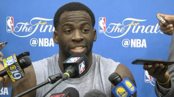 Draymond says he didn't bash Cavs fans