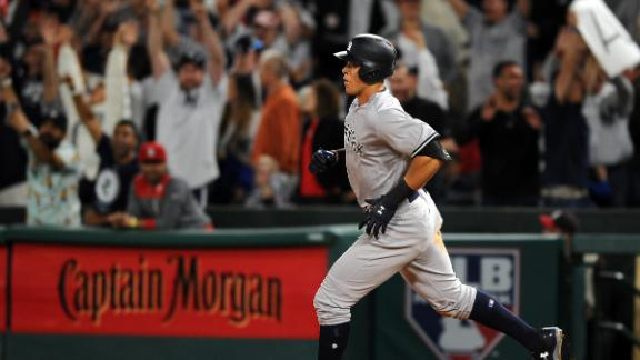 Judge's long ball is the difference-maker