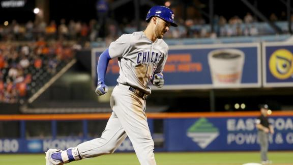 Cubs use long ball to blow out Mets